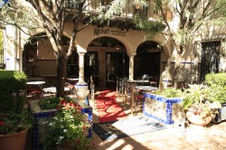 Best Sedona French Restaurant Rene' at Tlaquepaque