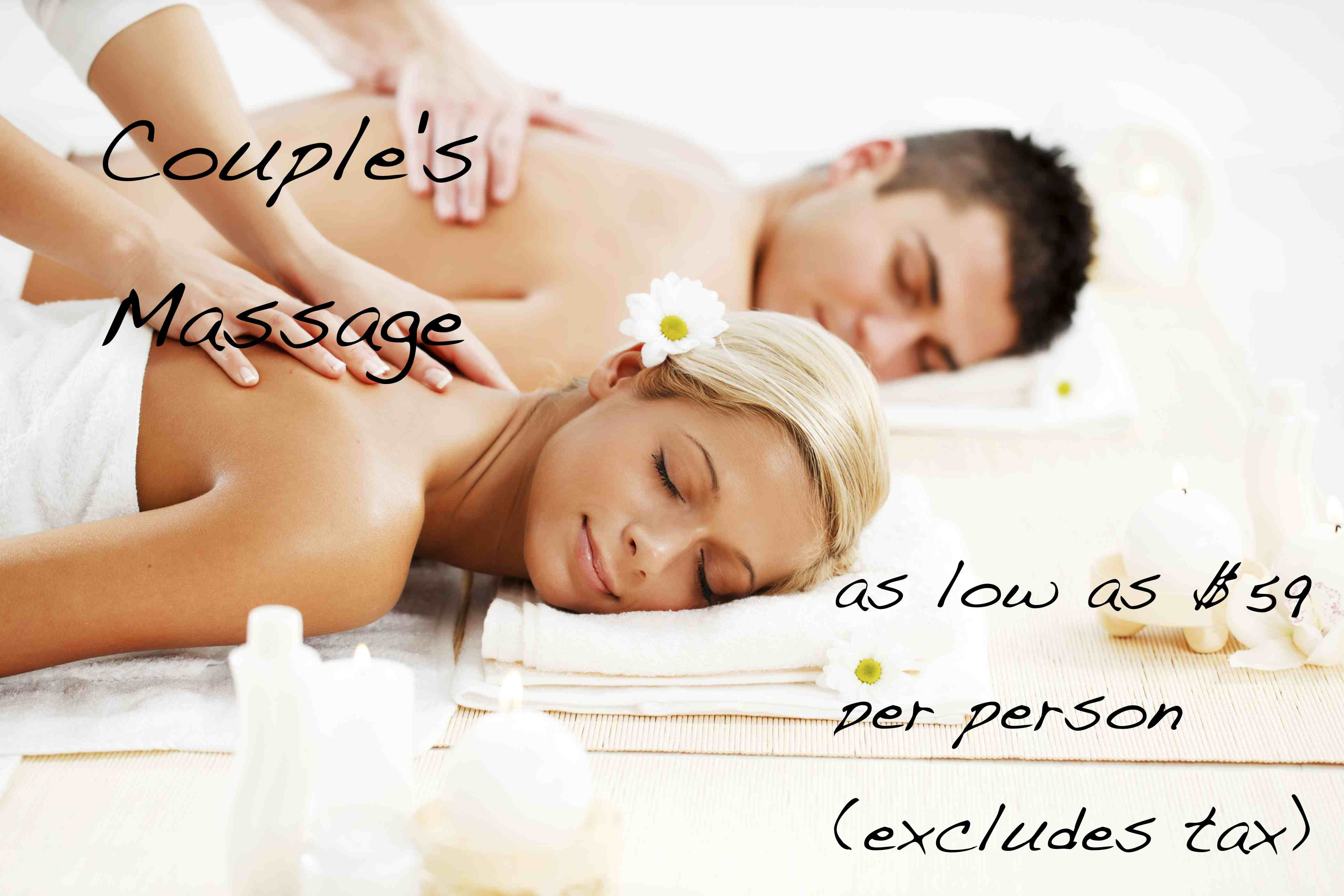 Couple's Massage Special